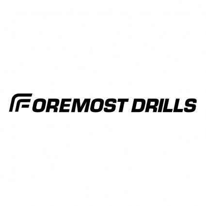 free vector Foremost drills