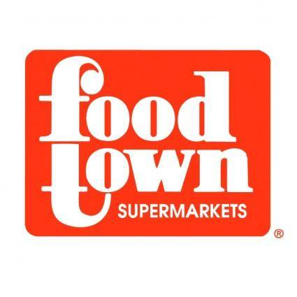 free vector Food town