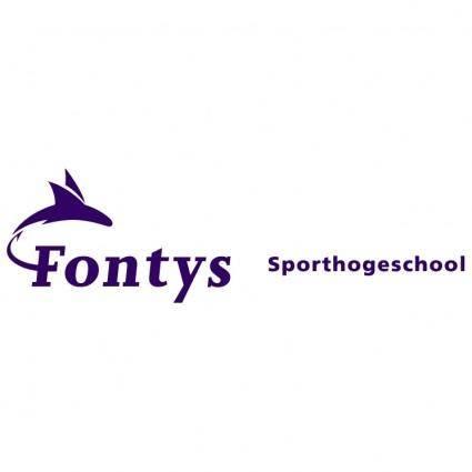 free vector Fontys sporthogeschool