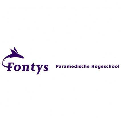 free vector Fontys paramedische hogeschool