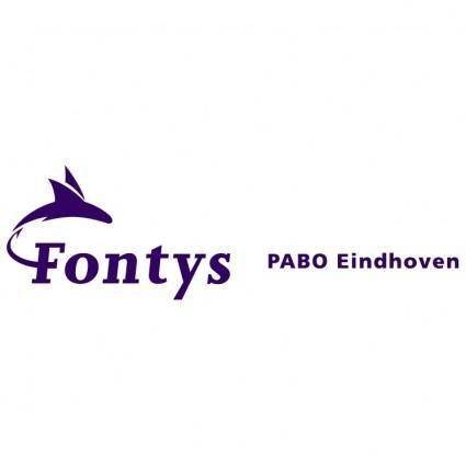 free vector Fontys pabo eindhoven