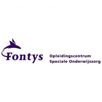 free vector Fontys opleidingscentrum speciale onderwijszorg