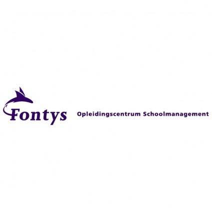 free vector Fontys opleidingscentrum schoolmanagement