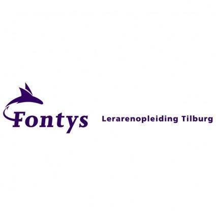 free vector Fontys lerarenopleiding tilburg