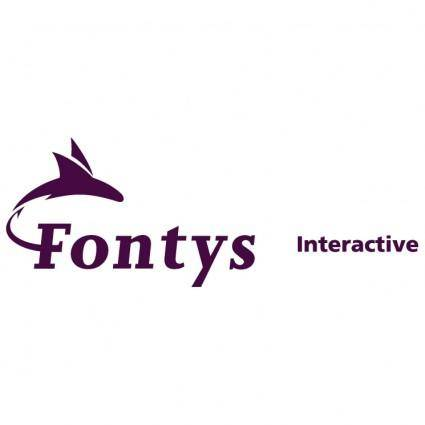 free vector Fontys interactive