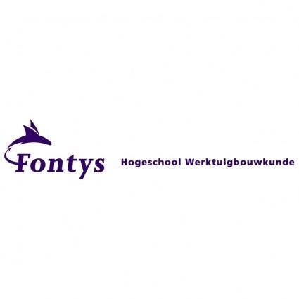 Fontys hogeschool werktuigbouwkunde