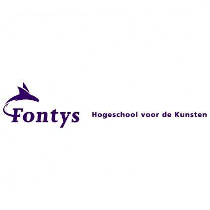 free vector Fontys hogeschool voor de kunsten