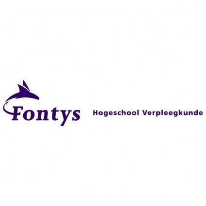 free vector Fontys hogeschool verpleegkunde
