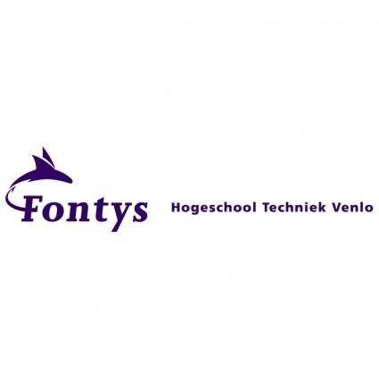 Fontys hogeschool techniek venlo