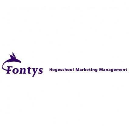 free vector Fontys hogeschool marketing management