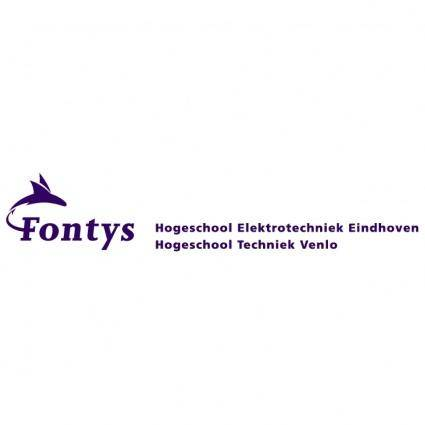 free vector Fontys eindhoven en venlo