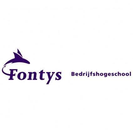 free vector Fontys bedrijfshogeschool