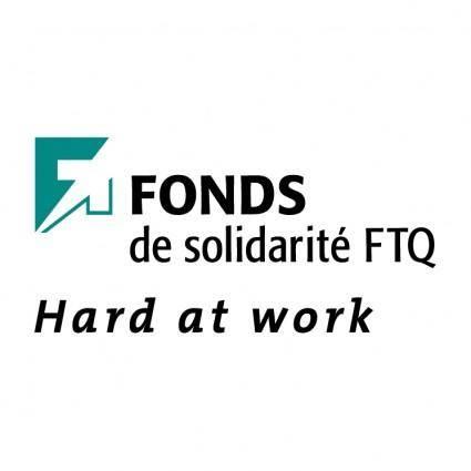 free vector Fonds de solidarite ftq