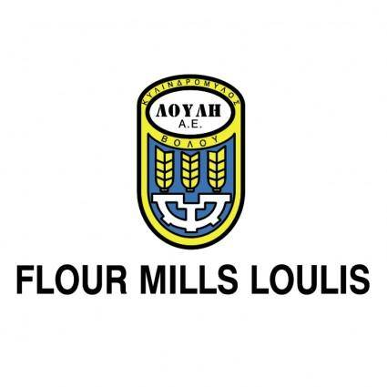 free vector Flour mills loulis