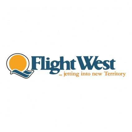 free vector Flight west airlines