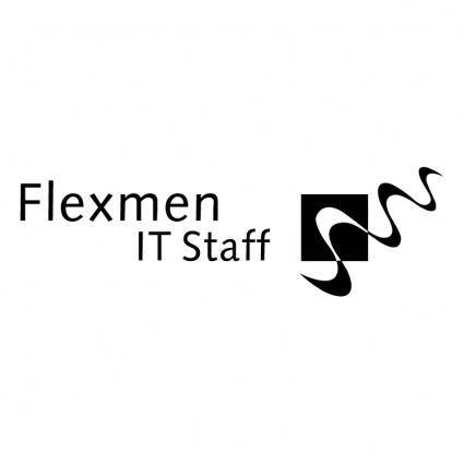 free vector Flexmen it staff