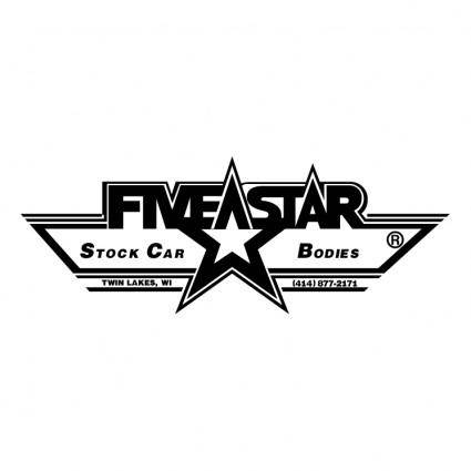 free vector Five star