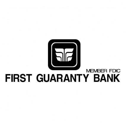 free vector First guaranty bank