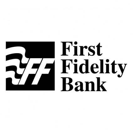 free vector First fidelity bank