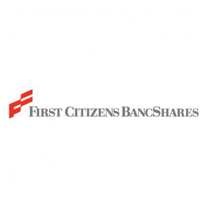 First citizens bancshares