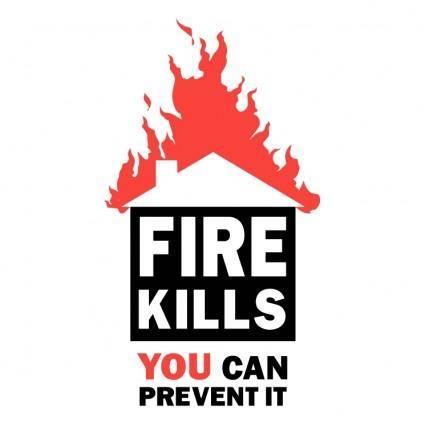 free vector Fire kills