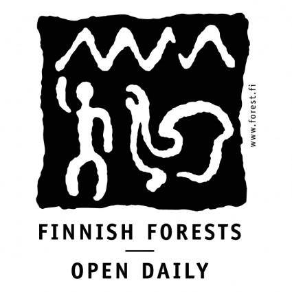 Finnish forest open daily