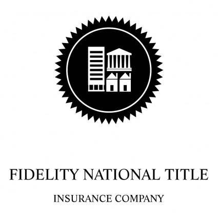 free vector Fidelity national title