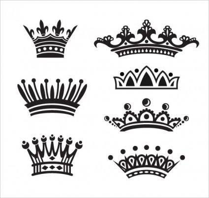 free vector European crown vector