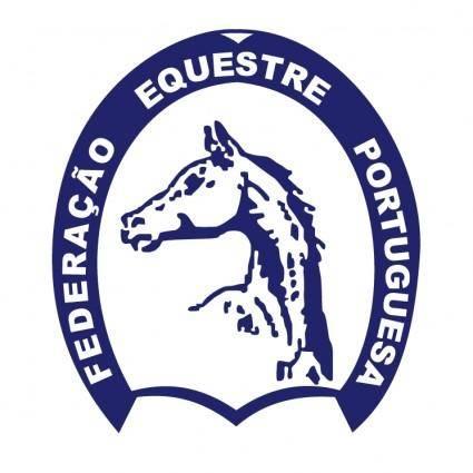 free vector Federacao equestre portuguesa