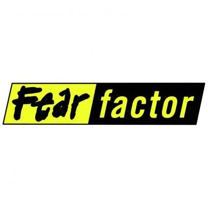 free vector Fear factor