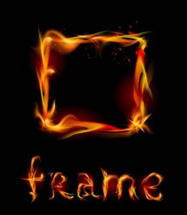 Flame effects 03 vector