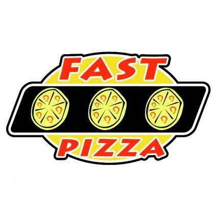 free vector Fast pizza