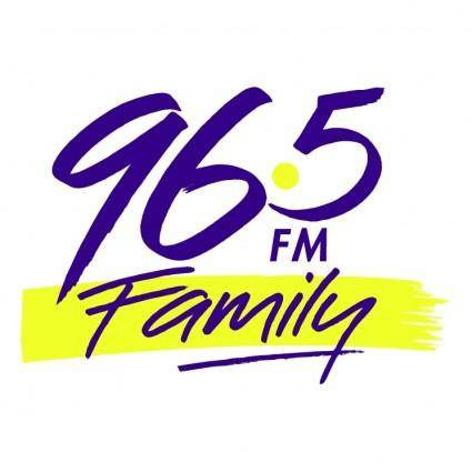free vector Family radio 965 fm