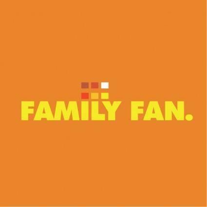 Family fan