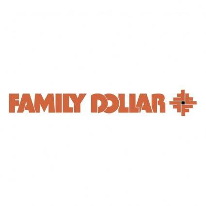 free vector Family dollar