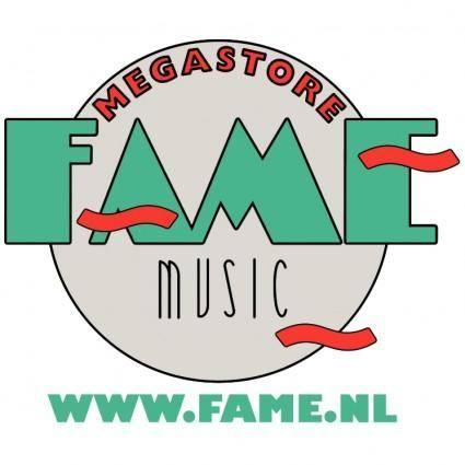 free vector Fame music megastore 0