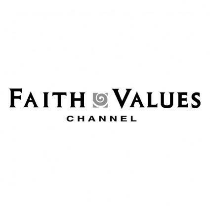 free vector Faith values