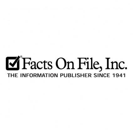 free vector Facts on file