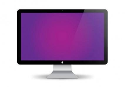 free vector Mac display vector