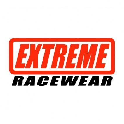 free vector Extreme racewear