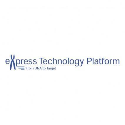 free vector Express technology platform