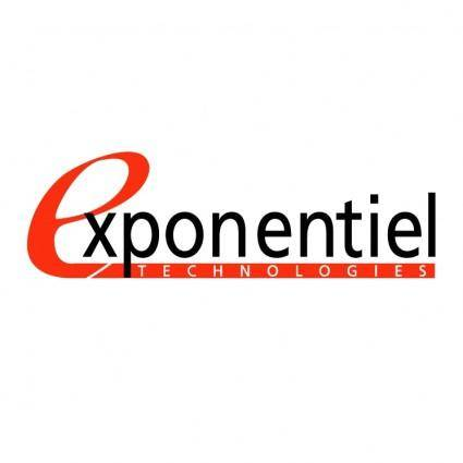 Exponentiel technologies