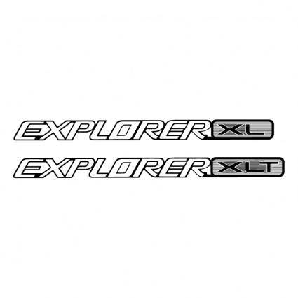free vector Explorer xl