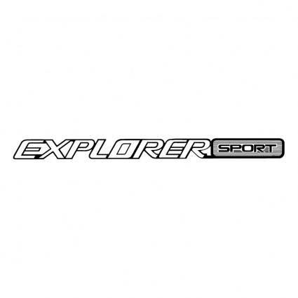 free vector Explorer sport