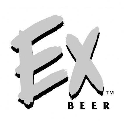 free vector Ex beer