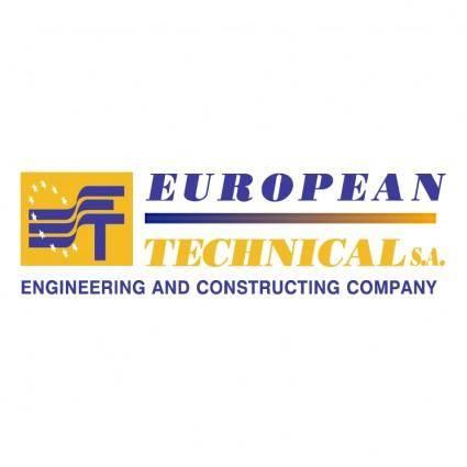 free vector European technical