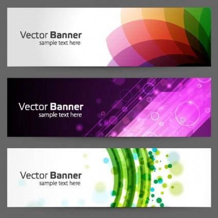 The gorgeous strip card 02 vector