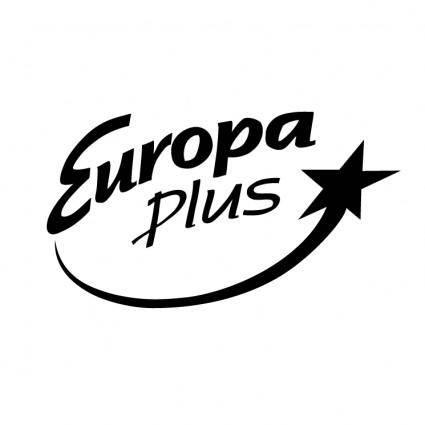 free vector Europa plus radio 1