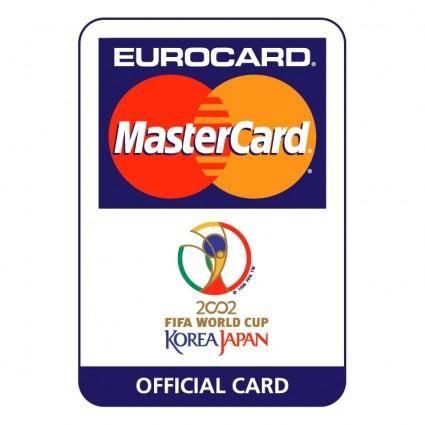 free vector Eurocard mastercard 2002 fifa world cup 2
