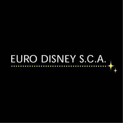 Euro disney sca